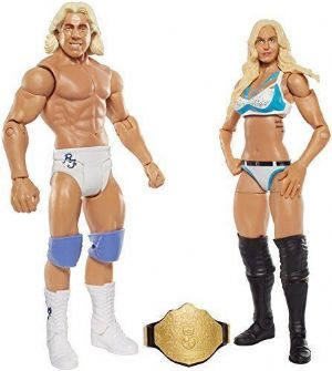 WWE Battle Pack Series 41 Charlotte & Ric Flair Westling Action Figures